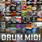 Toontrack Drum MIDI Packs