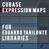 Expression Maps for Eduardo Tarilonte Libraries