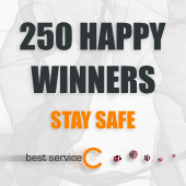 Best Service Covid19 Giveaway Winners