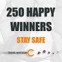 Best Service Covid19 Giveaway Winners