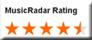MusicRadar Rating, 4,5 stars from 5