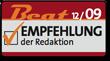 Beat Empfehlung der Redaktion 12/09