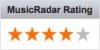 Music Radar Rating 4 Stars