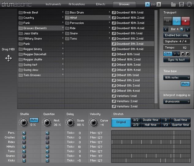 drumasonic groove player