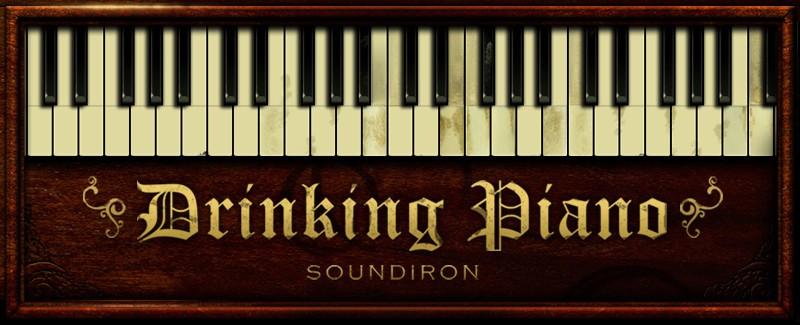 Instrument Series Drinking Piano