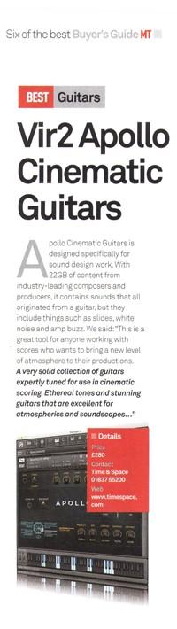 MusicTech Magazine, 6 of the best
