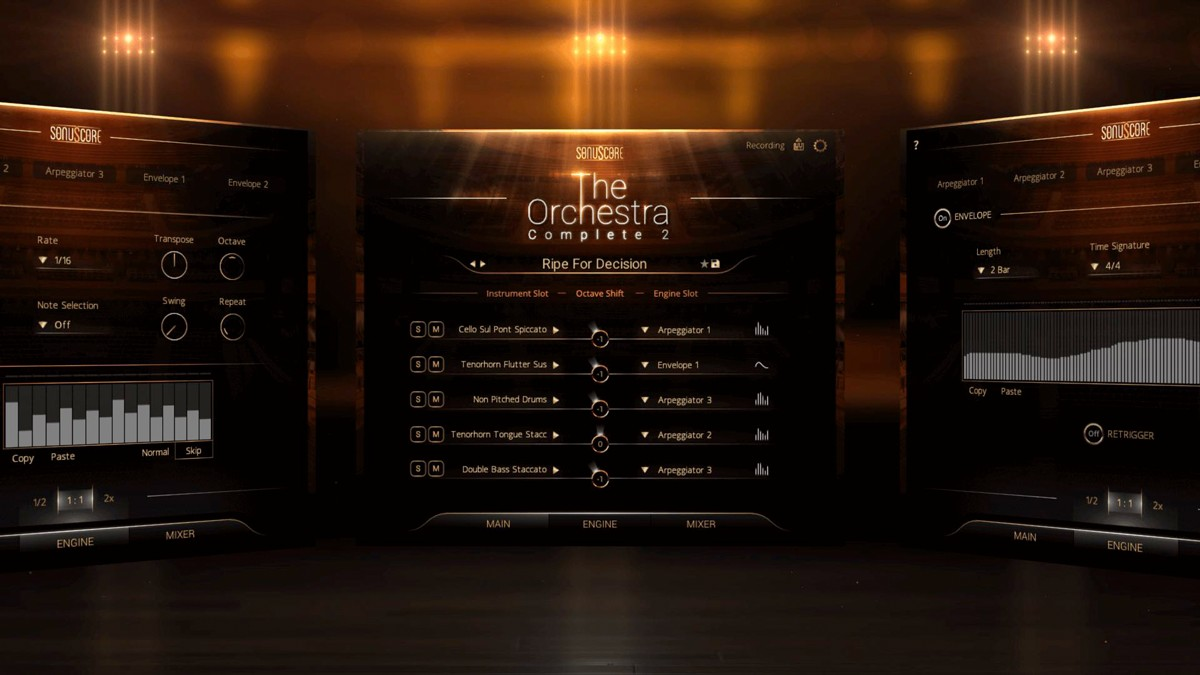 TOC2 Ensemble Multipatches