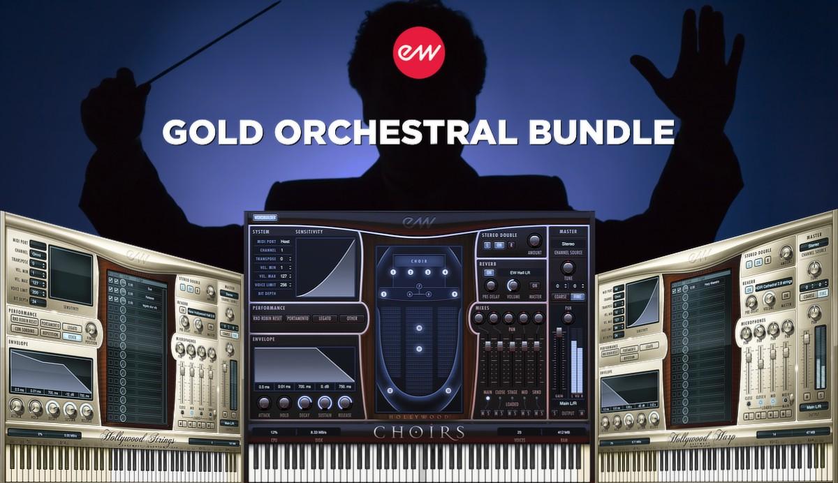 Orchestral Bundle Gold Banner