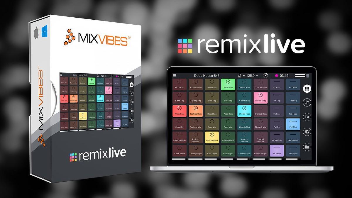 Remixlive Header