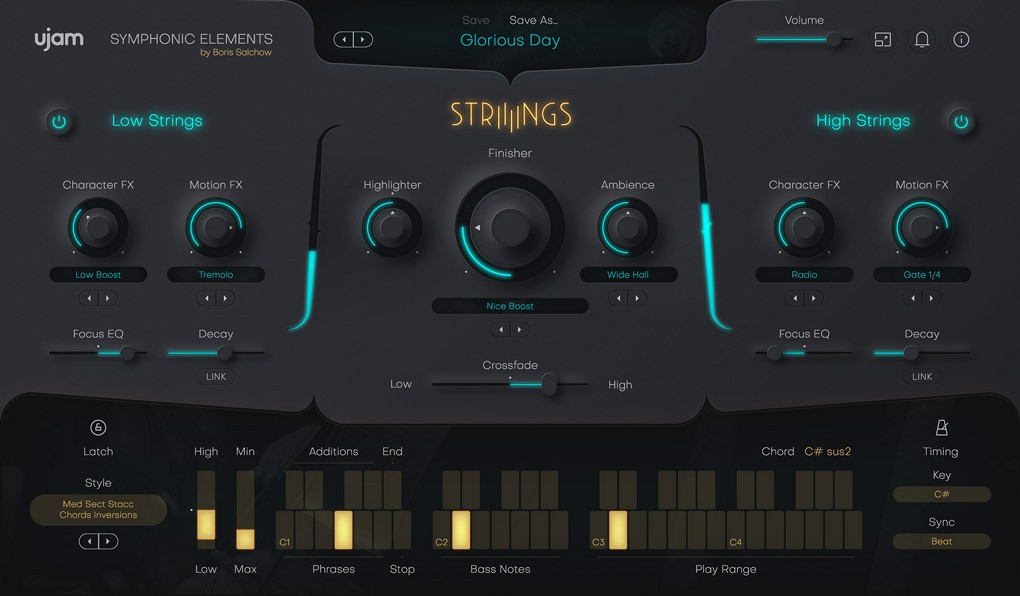 Strings gui
