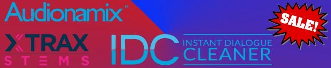 Banner Audionamix  - IDC & XTRAX STEMS Sale