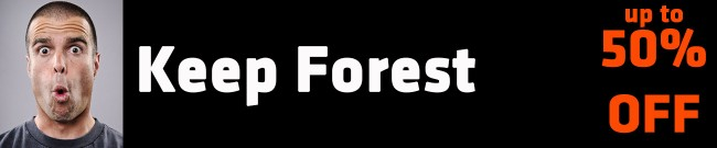 Banner Keep Forest Up to 50% OFF