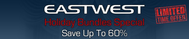 Banner EastWest - Holiday Bundle Special