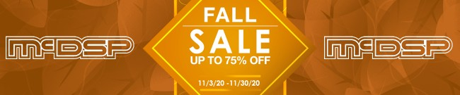 Banner McDSP - Fall Sale - Up To 75% OFF