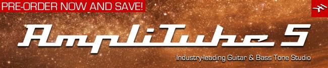 Banner IK Multimedia - AmpliTube 5 Pre-Order Sale