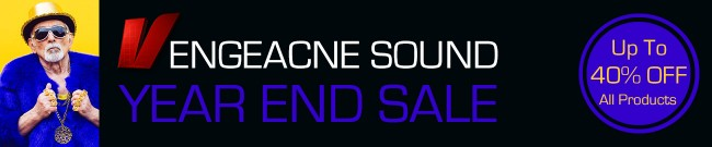 Banner Vengeance Sound - Year End Sale: 40% OFF