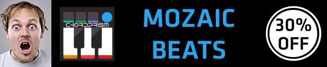 Banner Mozaic Beats - ChordPrism - 30% OFF