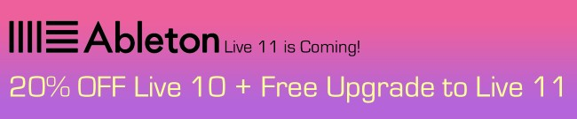 Banner Ableton Live 10 Sell-out - 20% OFF