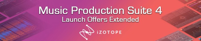 Banner iZotope - Music Production Suite 4 - Extended