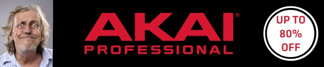 Banner AKAI - Software Sale - Up to 80% OFF