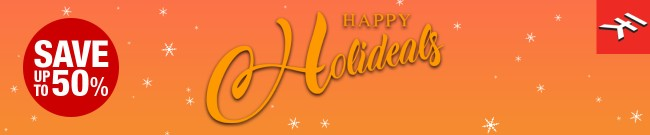 Banner IK Multimedia - Happy Holideals Sale