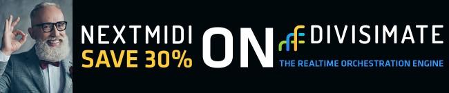Banner Nextmidi - 30% Off Divisimate