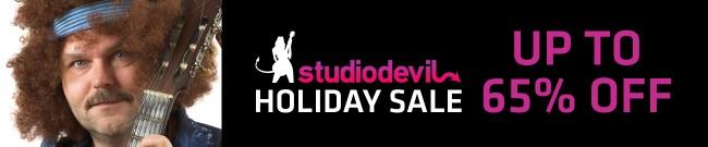 Banner Studio Devil - Holiday Sale - Up to 65% OFF