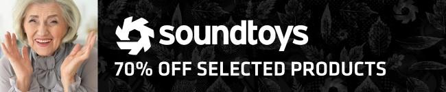 Banner Soundtoys - 70% OFF