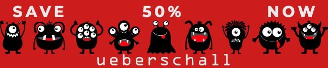 Banner Ueberschall - Black Friday Sale - 50% OFF
