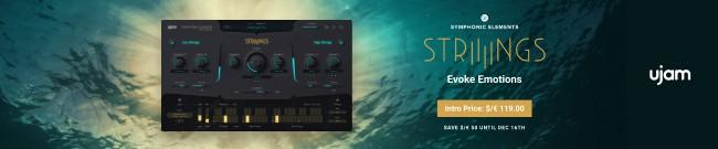 Banner Ujam - STRIIIINGS - Pre-Order-Sale