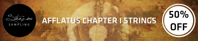 Banner Strezov - 50% OFF Afflatus Chapter | Strings