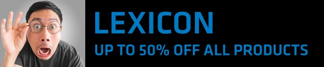 Banner Lexicon - Up to 50% OFF