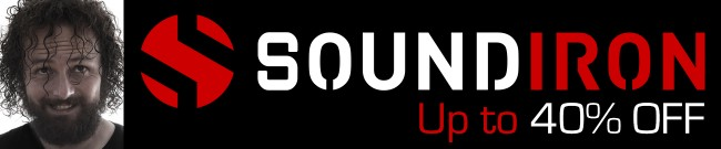 Banner Soundiron - Up to 40% OFF