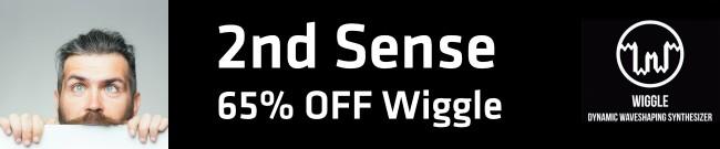 Banner 2nd Sense - 65% OFF Wiggle