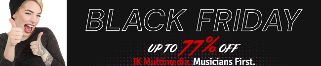Banner IK Multimedia - Up to 77% Off