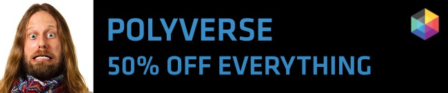 Banner Polyverse - 50% OFF