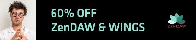 Banner ZenDAW - 60% OFF