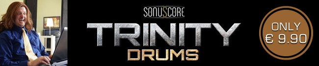 Banner Sonuscore - Trinity Drums On Sale