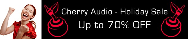 Banner Cherry Audio - Holiday Sale