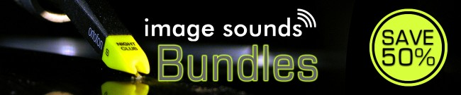 Banner Image Sounds - Save 50% with Bundles