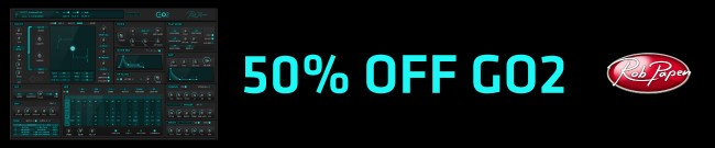 Banner Rob Papen - 50% OFF Go2