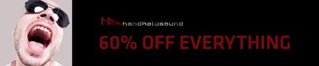 Banner Handheld Sound - 60% OFF