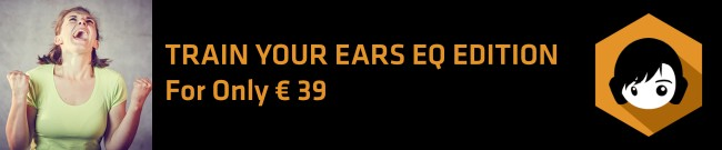 Banner TrainYourEars - EQ Edition for only EUR 39