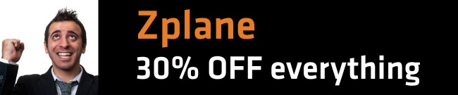 Banner Zplane - 30% OFF everything