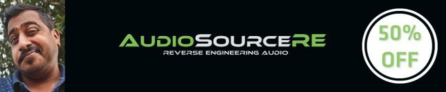 Banner AudioSourceRE - 50% OFF