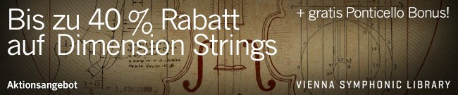 Banner VSL - Up to 40% Off Dimension Strings