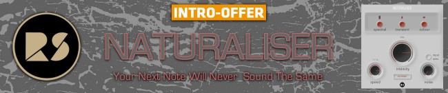 Banner Rast Sound - Naturaliser - Intro Offer