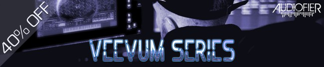 Banner Audiofier - Veevum Sale - 40% OFF