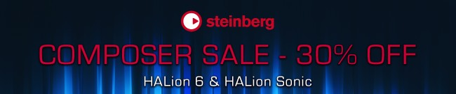 Banner Steinberg Composer Sale - 30% Off
