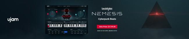 Banner UJAM BeatMaker Nemesis - Intro Offer